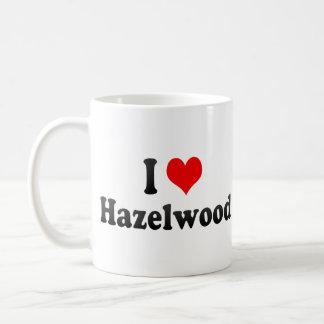 I Love Hazelwood, United States Mugs