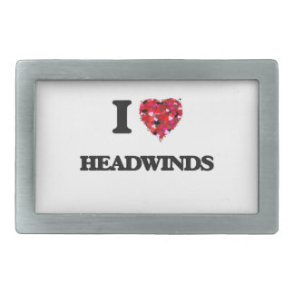 I Love Headwinds Belt Buckle