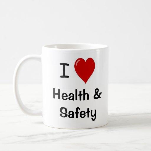 I Love Health and Safety - Double-sided Coffee Mug