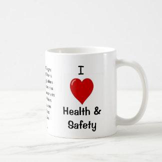 I Love Health and Safety - Rude Reasons Why! Basic White Mug