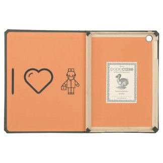 I Love Health Cares iPad Air Covers
