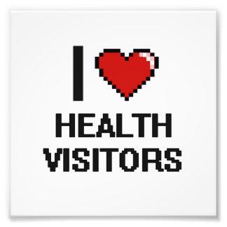 I love Health Visitors Photographic Print