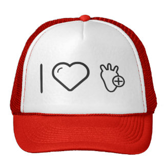 I Love Healthy Heart Cap