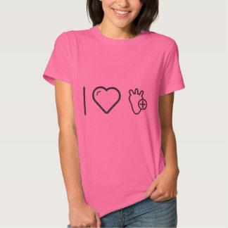 I Love Healthy Heart T-shirts
