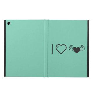 I Love Healthy Hearts Case For iPad Air