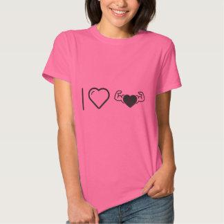 I Love Healthy Hearts T-shirts