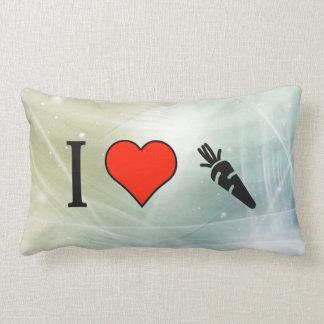 I Love Healthy Living Throw Cushions