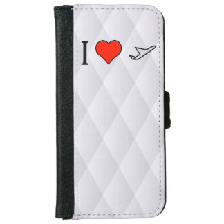 I Love Hearing A Plane Take Off iPhone 6 Wallet Case