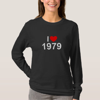 I Love (Heart) 1979 T-Shirt