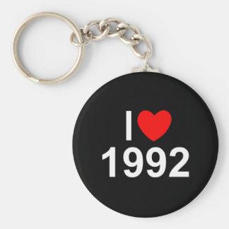 I Love (Heart) 1992 Key Chains