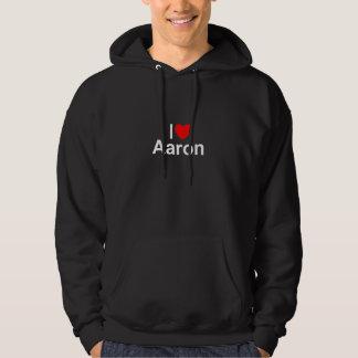 I Love (Heart) Aaron Hoodie