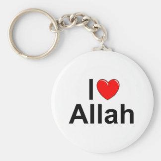 I Love (Heart) Allah Key Ring