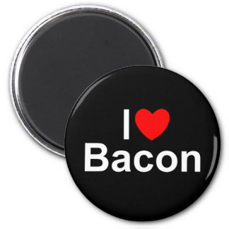 I Love (Heart) Bacon Magnet