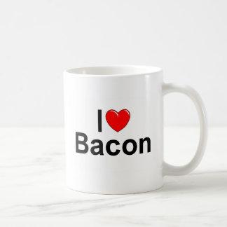 I Love (Heart) Bacon Mugs