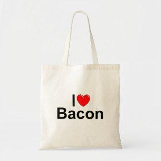 I Love (Heart) Bacon Tote Bag
