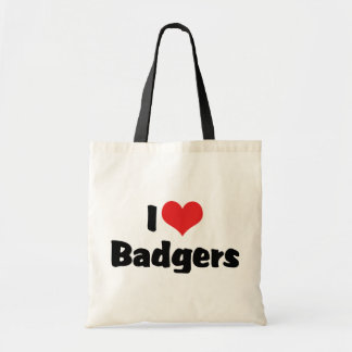 I Love Heart Badgers
