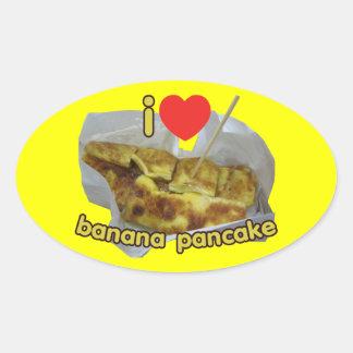 I Love (Heart) Banana Pancake ... Thai Street Food Stickers