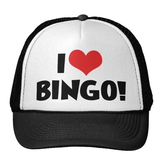 I Love Heart Bingo! - Bingo Lovers Cap