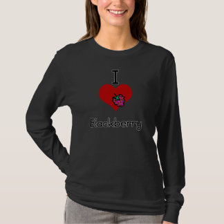 I love-heart blackberry T-Shirt