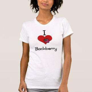 I love-heart blackberry tee shirt