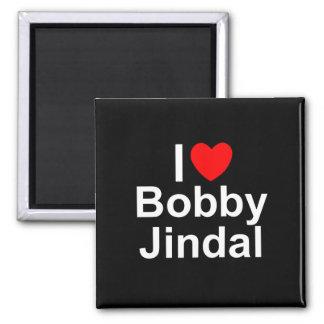 I Love (Heart) Bobby Jindal Refrigerator Magnet