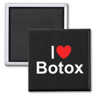 I Love (Heart) Botox Square Magnet