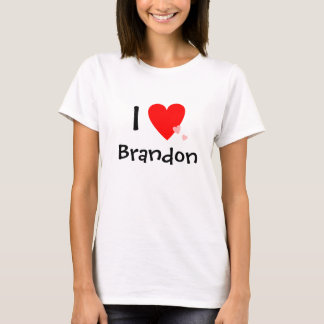I Love (Heart) Brandon T-Shirt