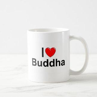 I Love (Heart) Buddha Basic White Mug