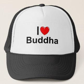 I Love (Heart) Buddha Trucker Hat