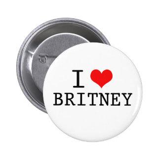 I Love   Heart Button