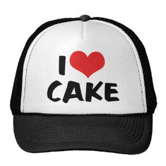 I Love Heart Cake - Cake Cookie Donut Lover Cap