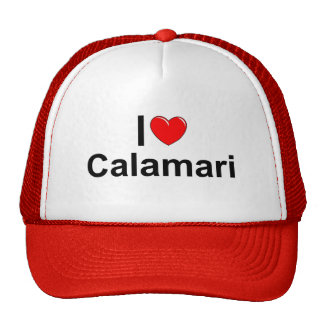 I Love (Heart) Calamari Cap