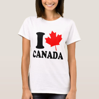 I Love Heart Canada T-Shirt
