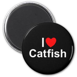 I Love (Heart) Catfish Fridge Magnets