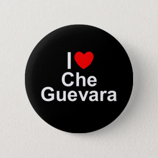 I Love (Heart) Che Guevara 6 Cm Round Badge