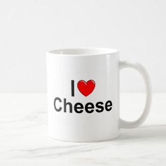 I Love (Heart) Cheese Coffee Mug
