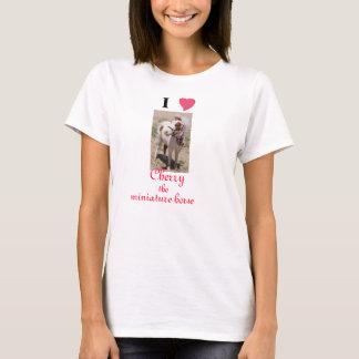 I Love (heart) Cherry the miniature horse (Desert) T-Shirt
