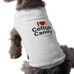 I Love (Heart) Cotton Candy Doggie Tee Shirt