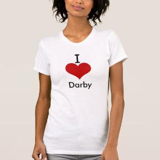I Love (heart) Darby Tee Shirt