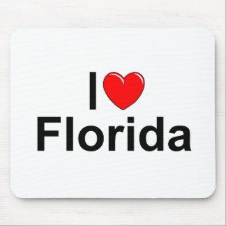 I Love (Heart) Florida Mouse Pad