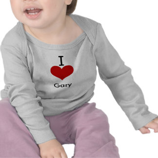 I Love (heart) Gary Tshirt