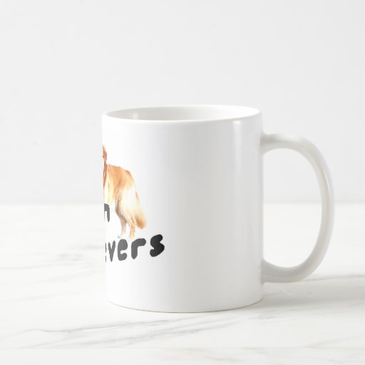 I love (heart) Golden Retrievers Coffee Mugs
