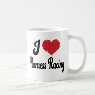 I Love Heart Harness Racing Mug