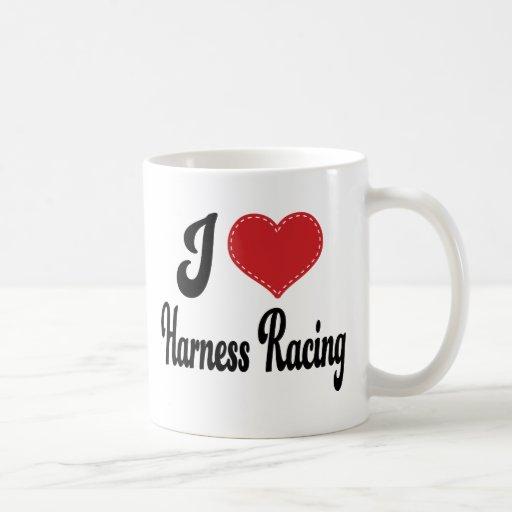 I Love (Heart) Harness Racing Mug