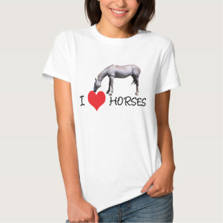 I Love (Heart) Horses Shirts / T-shirts