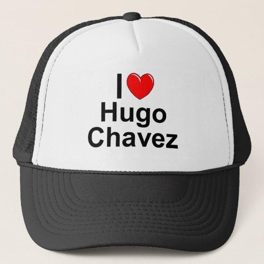 I Love (Heart) Hugo Chavez Cap
