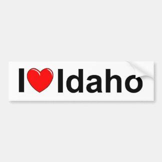 I Love (Heart) Idaho Bumper Stickers