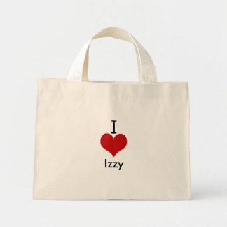 I Love heart Izzy Tote Bag
