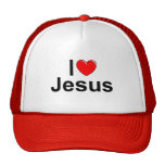 I Love (Heart) Jesus Cap