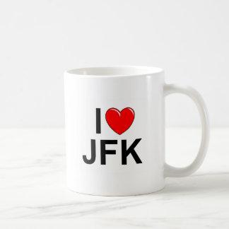 I Love (Heart) JFK Mugs